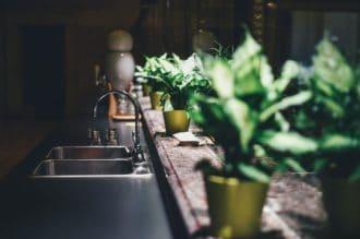 כיור במטבח