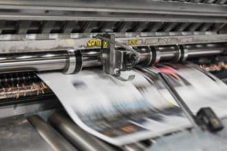 מכונת הדפסה מתקדמת - אילוסטרציה