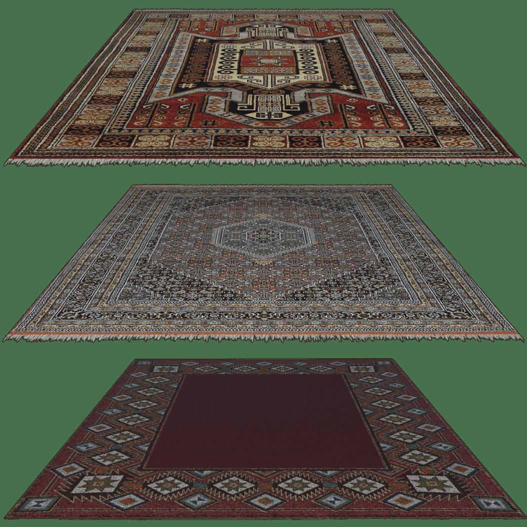 שלושה שטיחים