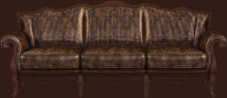 ספה מעוצבת